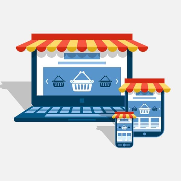 المتاجر الألكترونية